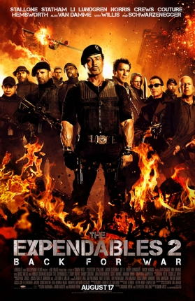 The Second Spot for 'The Expendables 2' is Here