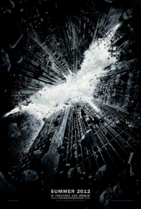 the dark knight rises poster one
