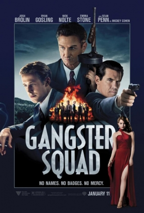 'Gangster Squad' International Trailer's Got Swagger