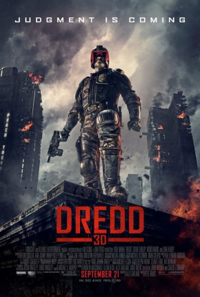 Exclusive: First poster and new images for the comic adaptation 'Dredd' with Karl Urban arrives!