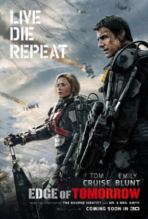 Tom Cruise's Edge of Tomorrow retitled Live Die Repeat for home release