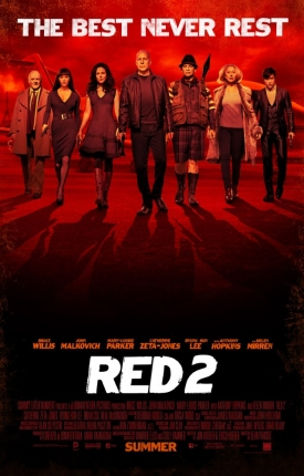 The Gang's All Here in the New RED 2 Poster