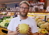 Watch Seth Rogen prank shoppers with talking food for 'Sausage Party'