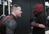 New Official Image Of Ryan Reynolds Suited Up As DEADPOOL On Vancouver Set