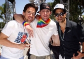 Channing Tatum, Matt Bomer Boost 'Magic Mike XXL' With Float at Los Angeles Gay Pride Parade (Photos)