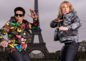 Ben Stiller and Owen Wilson head to the Eiffel Tower for Zoolander 2