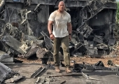 New Rampage Photo Shows Off Giant Monster Destruction