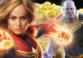 Captain Marvel & Thanos Are Back-To-Back on New Endgame Popcorn Tin