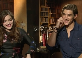'The Giver' Stars Brenton Thwaites, Oyeda Rush Talk Their 8 'Emotionally Draining' Auditions (Video)