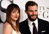 'Fifty Shades of Grey' London Premiere: Jamie Dornan, Dakota Johnson Steam Up Red Carpet (Photos)