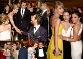 Inside Golden Globes After-Parties: Jennifer Aniston, Jared Leto, Taylor Swift, Selena Gomez and Gold Trophy 'Plus Ones' (Photos)