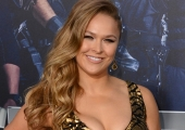 Which 'Expendables 3' newcomer has the biggest balls? Ronda Rousey, apparently