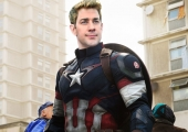 Losing Captain America Role to Chris Evans Still Has John Krasinski Cracking Jokes
