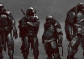 'Teenage Mutant Ninja Turtles' Alternate Design Concept Art