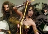 Justice League Images Pit the Team Against Steppenwolf's Parademons