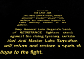 Every Star Wars Movie Should Have an Opening Crawl