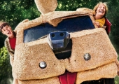 'Dumb and Dumber To' poster unites Jim Carrey, Jeff Daniels and the Shaggin' Wagon