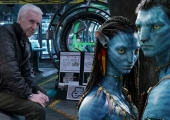 James Cameron oversees a laboratory set in new Avatar sequel photos