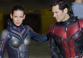 Ant-man and The Wasp are suited up and ready for action in new set pics