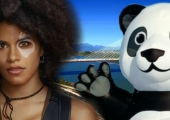 Domino Vs. Giant Inflatable Panda in Latest Deadpool 2 Video