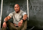 Dwayne Johnson Celebrates Independence Day With Rampage Set Photo