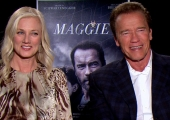 Exclusive Interview: Arnold Schwarzenegger and Joely Richardson talk Maggie!