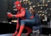 Spider-Man Drops In For A Cup Of Coffee Plus Another Poster