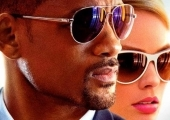"Will Smith and Maggot Robbie in ""Focus"""