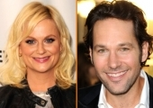 Amy Poehler and Paul Rudd