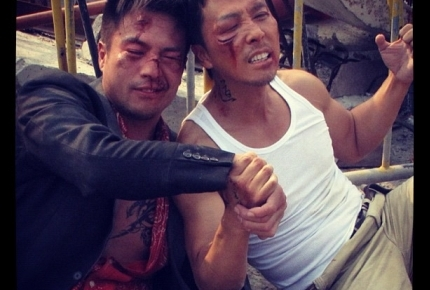"Andy On and Donnie Yen in ""Special Identity"""