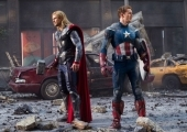 The Avengers: Thor and Captain America