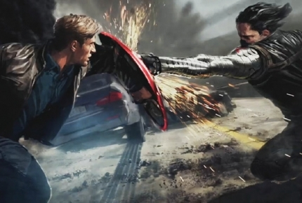 Watch a 4-Minute Clip of 'Captain America: The Winter Soldier'