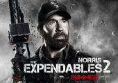 "Chuck Norris in ""The Expendables 2"""