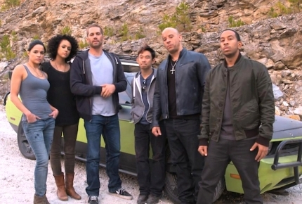'Fast & Furious 7' May Start Up Again in January 2014