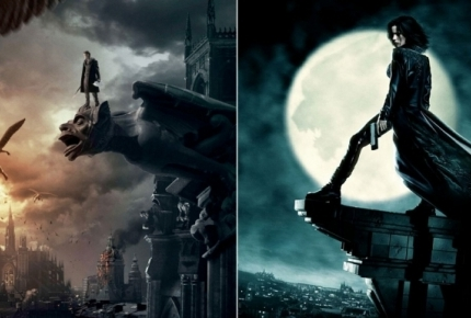 """Posters for """"I, Frankenstein"""" and """"Underworld"""""""