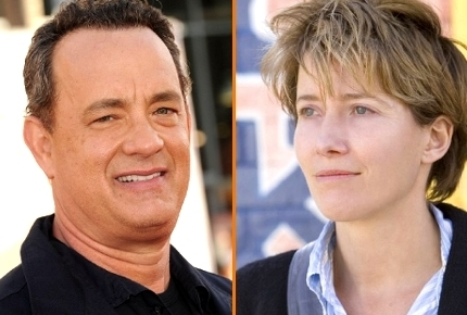 Tom Hanks and Emma Thompson
