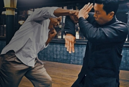 "Mike Tyson vs. Donnie Yen in ""Ip Man 3"""