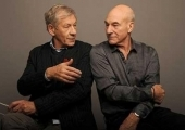 Ian McKellen and Patrick Stewart