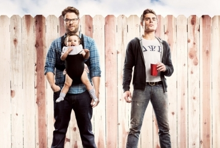 "Seth Rogen and Zac Efron in ""Neighbors"""
