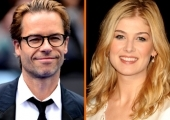 Guy Pearce and Rusamund Pike