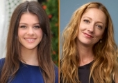 Necola Peltz and Judy Greer