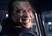 """Arnold Schwarzenegger in """"Terminator: Genisys"""""""