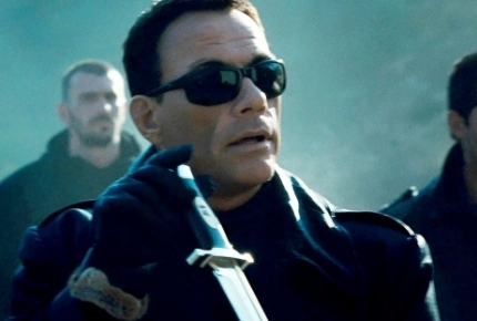 "Jean Claude Van Damme in ""The Expendables 2"""