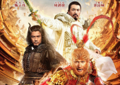 "Chow Yun-Fat, Aaron Kwok, and Donnie Yen in ""The Monkey King"""