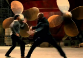 "Tony Jaa vs. Marrese Crump in ""Tom Yum Goong 2"""